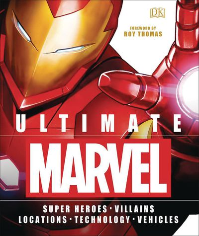 Ultimate Marvel Heroes Villains Locations Tech Vehicles HC ( JUL172416F
