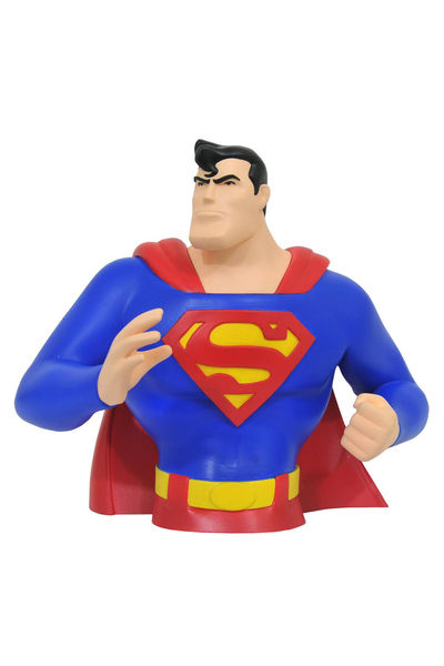 Superman Animated Bust Bank JUL172791U