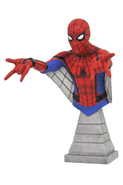 Marvel Spider-Man Homecoming Web Glider Spider-Man Bust JUL172798U