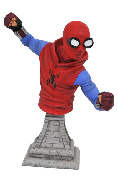Marvel Spider-Man Homecoming Homemade Spider-Man Bust JUL172799U