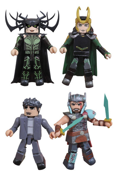 Marvel Thor Ragnarok Minimates Set JUL172801U