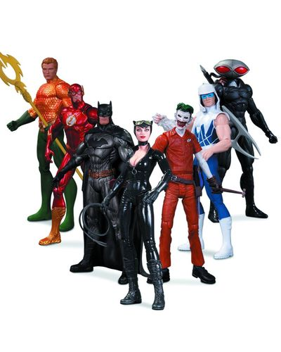 DC New 52 Super Heroes vs. Super Villains Action Figure 7 Pack JUN130321Y