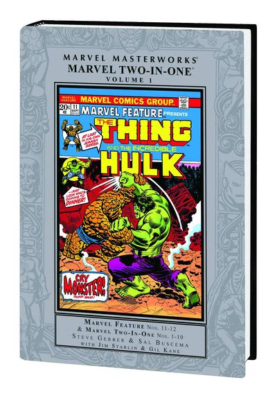 Marvel Masterworks Marvel Two In One HC Vol. 01 JUN130668D