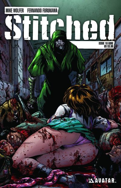 Stitched #16 Gore Cover