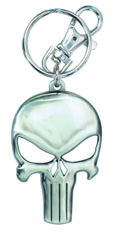 Punisher Symbol Pewter Keyring JUN132278F