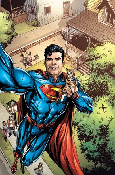 Superman Selfie