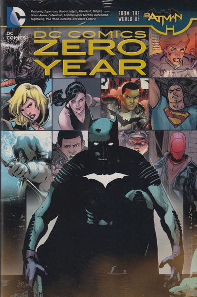 DC Comics Zero Year HC JUN140263D