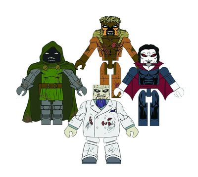 Marvel Minimates Zombie Villains Set #2 JUN142082U