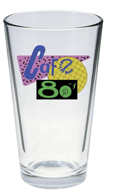 Back To the Future Cafe 80s Pint Glass JUN142087I