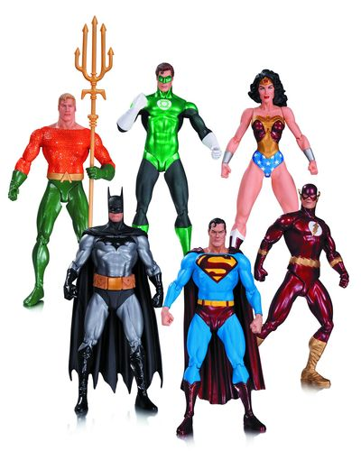 Alex Ross Justice League Action Figure 6 Pack JUN150332X