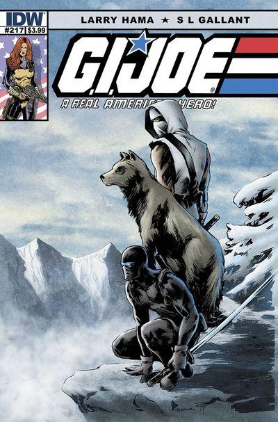 G.I. Joe A Real American Hero #217