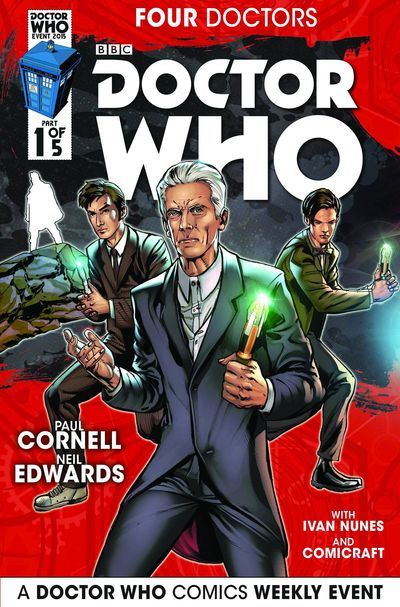 Doctor Who 2015 Four Doctors #1 (of 5)