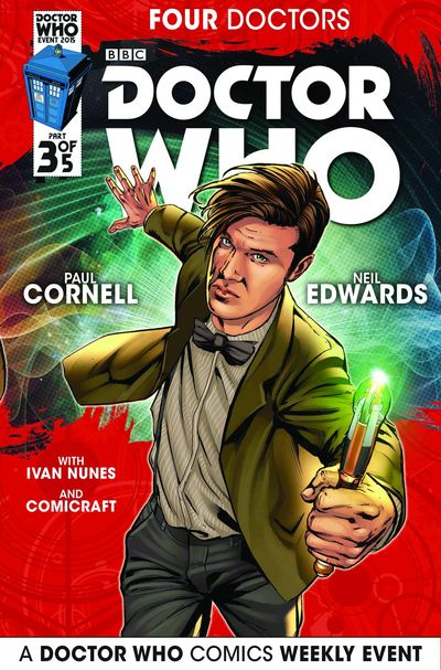 Doctor Who 2015 Four Doctors #3 (of 5)