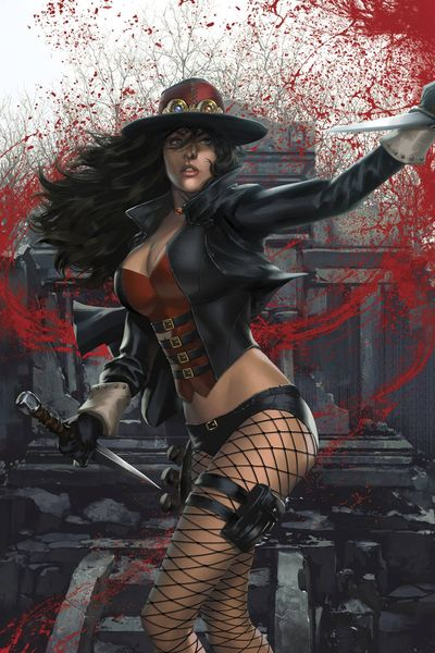 Grimm Fairy Tales Helsing vs. Dracula #1 (of 5) (Cover B - Wimberly)
