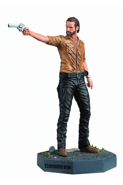 Walking Dead Figure Coll Mag #1 Rick Grimes JUN151750H