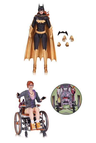 Batman Arkham Knight Batgirl Oracle Action Figure 2 Pack JUN160387X