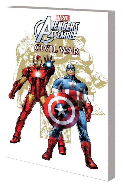 Marvel Universe Avengers Assemble Civil War Digest TPB JUN160985D