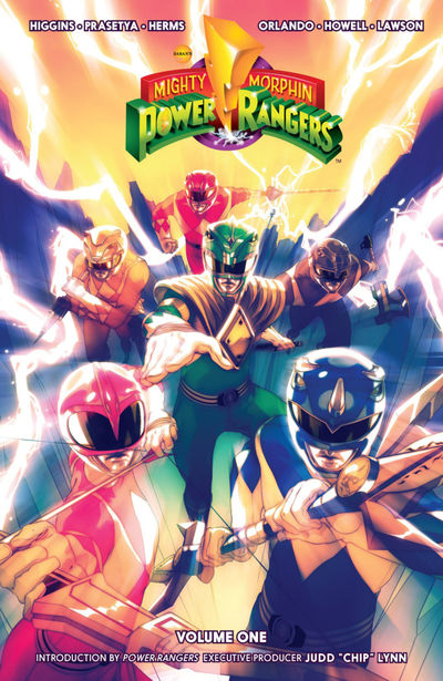 Power Ranger comics at TFAW.com