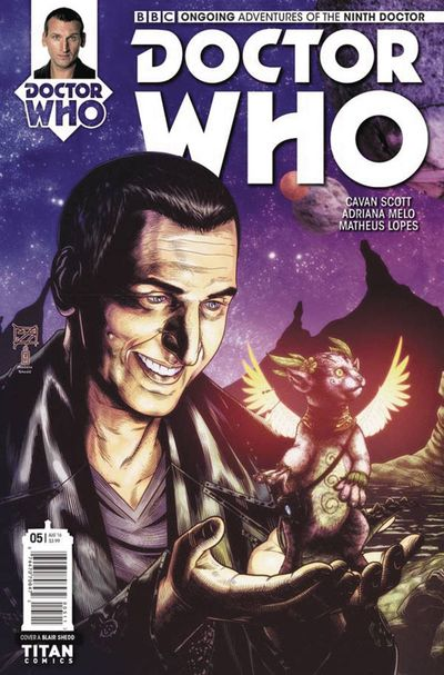 Doctor Who 9th #5 (Cover A - Shedd)