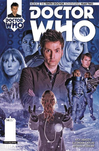 Doctor Who 10th Year 2 #14 (Cover B - Photo)