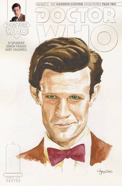Doctor Who 11th Year 2 #14 (Cover C - Myers Watercolor Variant)