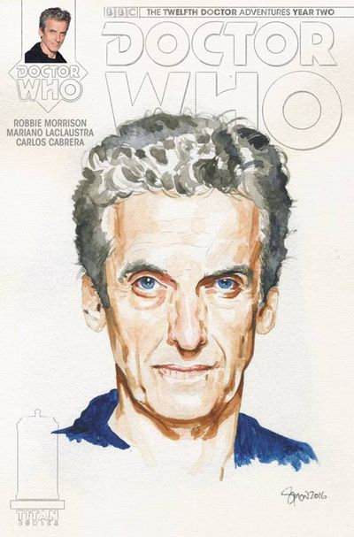 Doctor Who 12th Year 2 #11 (Cover C - Myers Watercolor Variant)
