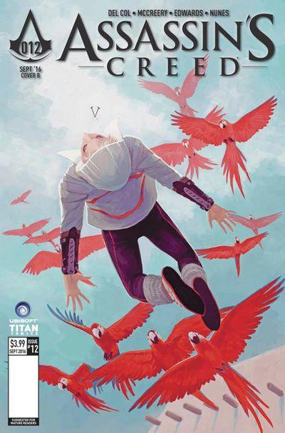 Assassins Creed #12 (Cover B - Sanapo)
