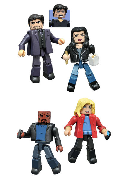 Marvel Netflix Minimates Jessica Jones Series 1 Set JUN162392U