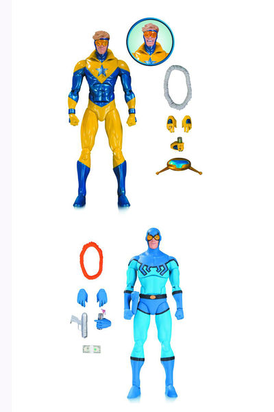 DC Icons Booster Gold and Blue Beetle Action Figure 2-Pack JAN170430Y