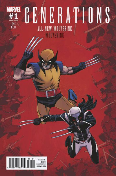 Generations Wolverine & All-new Wolverine #1 (Shalvey Variant Cover Edition)