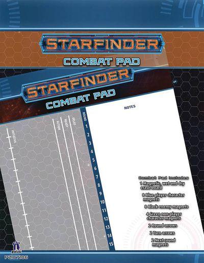 Starfinder Combat Pad