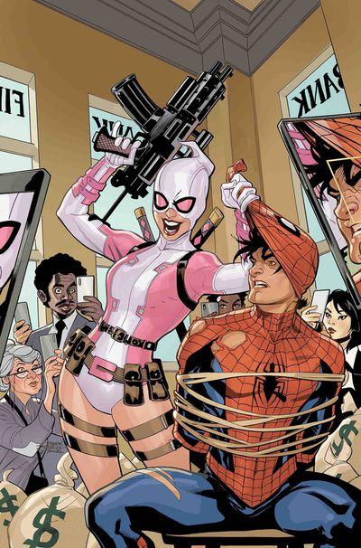 of 5 Gwenpool Strikes Back #1 Marvel Comics 2019 Lubera Variant NOT VIRGIN