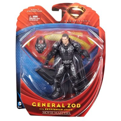 Man of Steel 6-in Movie Masters Action Figure - General Zod W/Kryptonian Armor manofsteelmmarmorzod