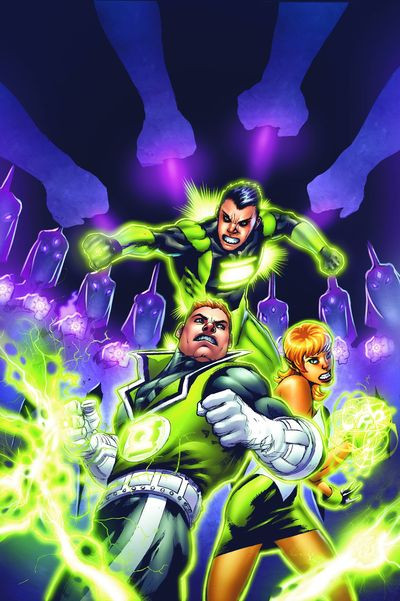 Green Lantern Corps Sins Of The Star Sapphire TPB MAR090182D