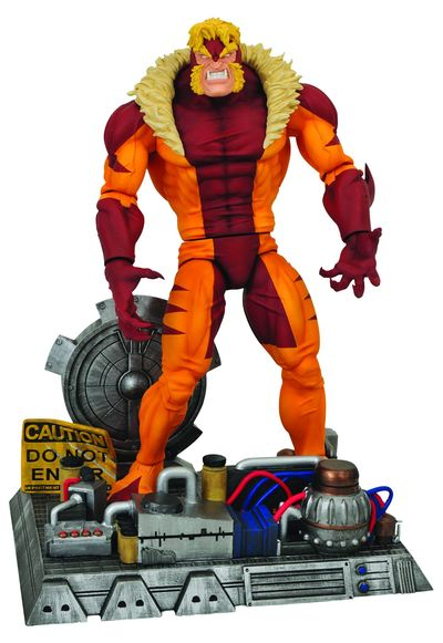 Marvel Select Sabertooth Action Figure MAR094734I