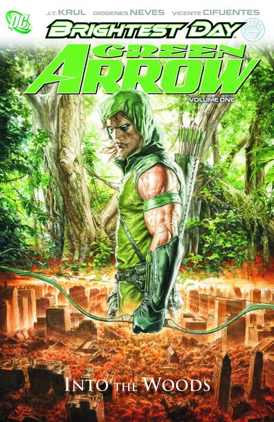 Green Arrow HC Vol. 01 Into The Woods MAR110351D