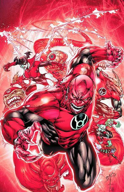 Red Lanterns TPB Vol. 01 Blood And Rage MAR120243D