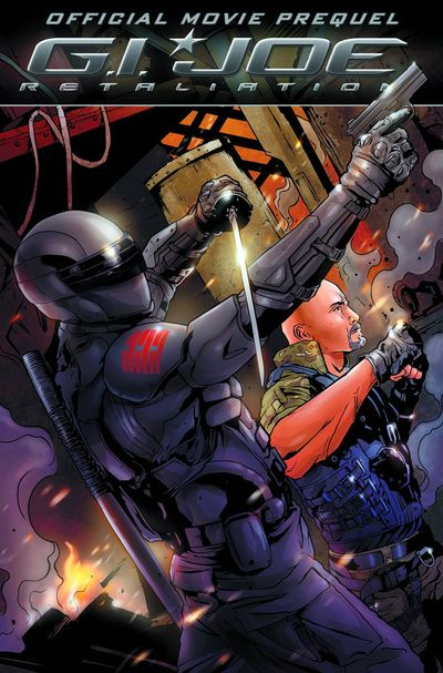 G.I. Joe 2 Retaliation Movie Prequel TPB MAR120335E