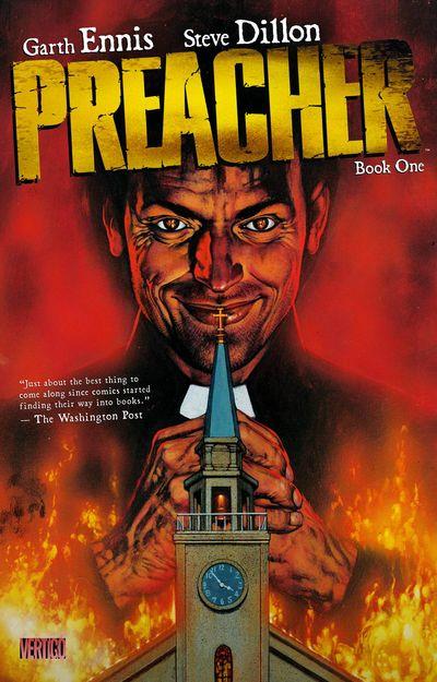 Preacher Book 1 Cover