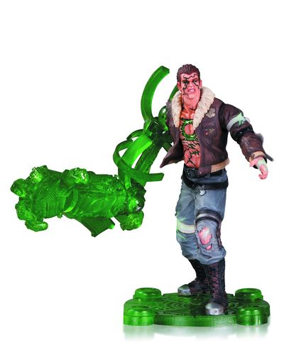 Infinite Crisis Atomic Green Lantern Action Figure MAR140307Y
