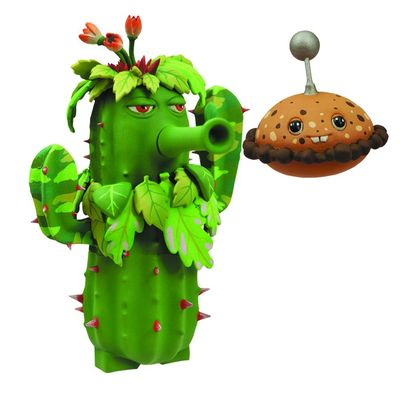 Plants vs. Zombies Gw Select Ghille Cactus Action Figure MAR141941I