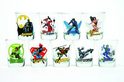 Toon Tumblers Green Lantern Mini Glass MAR142300I