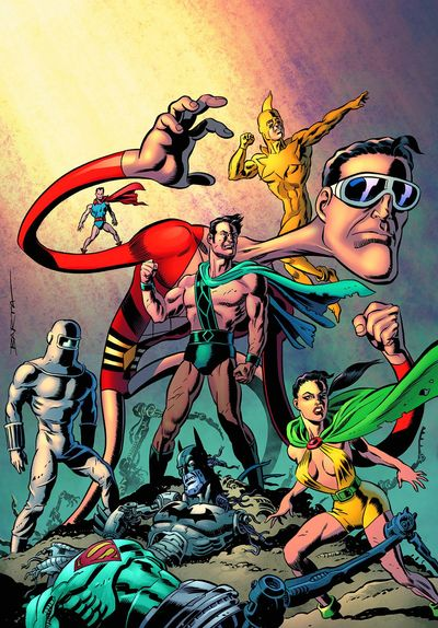 Convergence Plastic Man Freedom Fighters #2 MAR150245D