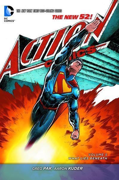 Superman Action Comics TPB Vol. 05 What Lies Beneath