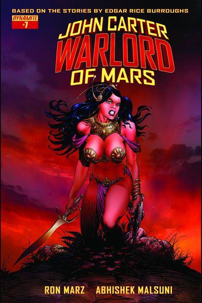 John Carter Warlord #7 (Cover B - Sears Variant)