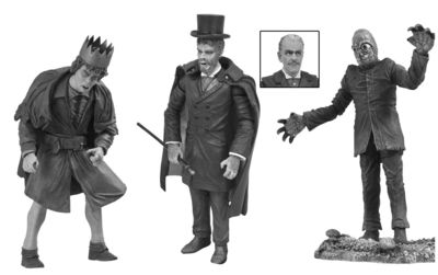Universal Monsters Black & White Action Figure Set #4 MAR152066U