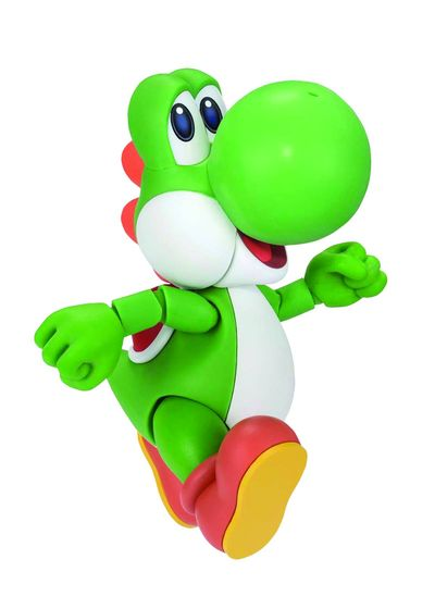 Super Mario Bros Yoshi S.h.figuarts Action Figure MAR152348J
