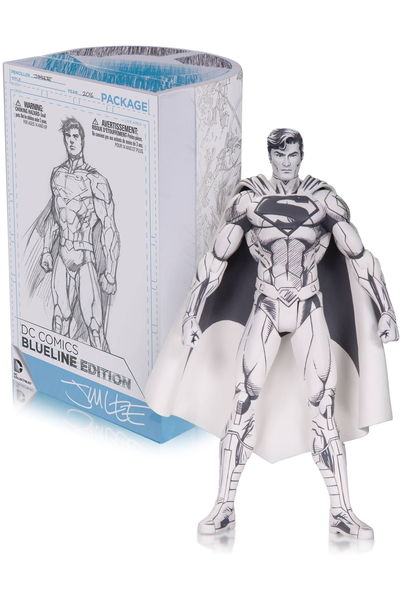 DC Comics Blueline Superman Action Figure MAR160334Y