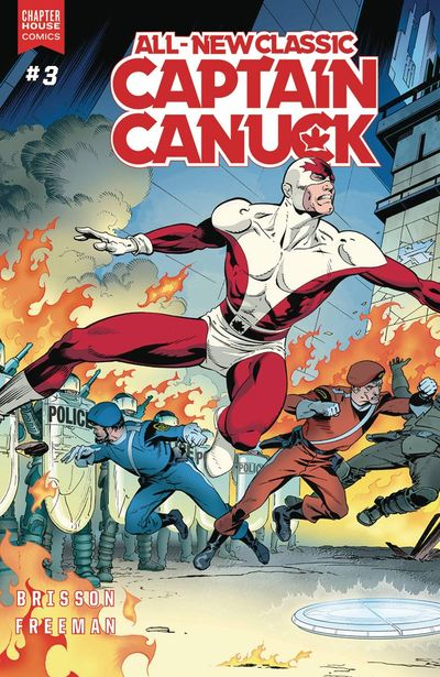 All New Classic Captain Canuck #3 (Cover A - Freeman)