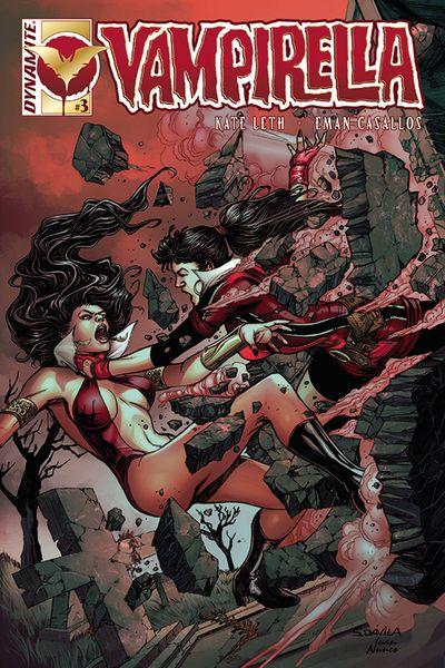 Vampirella Vol. 3 #3 (Cover B - Davila)